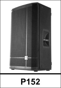 """AVA P152, a member of P Series is a Passive 2-way Loudspeaker system designed and manufactured by AVA Pro Audio and with high quality B&C 3"""" voice coil and 15"""" woofer. Ava P152 delivers clear high frequency, full and mid frequency and punchy bass."""