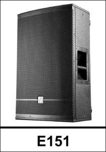 AVA E151-Passive 2-way Loudspeaker