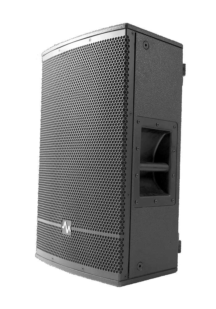 """AVA E121, a member of E Series is a Passive 2-way Loudspeaker system designed and manufactured by AVA Pro Audio and with high quality B&C 3"""" voice coil and 12"""" woofer. Ava E121 delivers clear high frequency, full and mid frequency and punchy bass."""